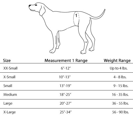 Female Diaper Measurement
