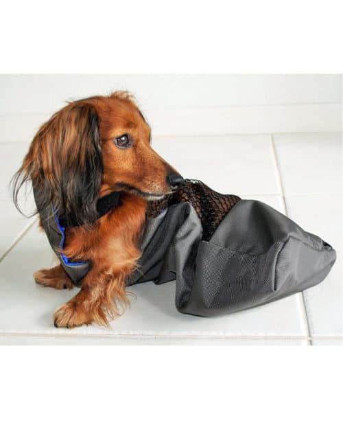 xs drag bag for dog protection