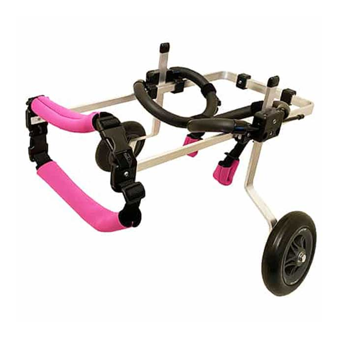 small rear support wheelchair without dog