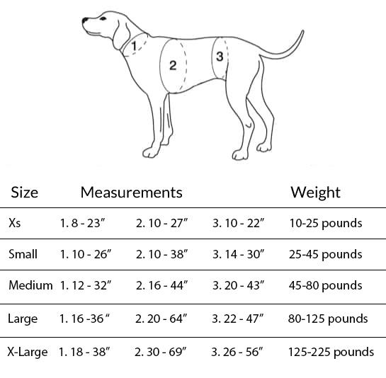 Help Em Up Measurements